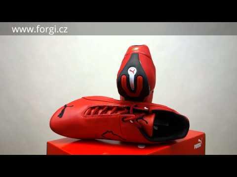 cede1895e2c23d PUMA Pánské boty Future Cat Leather SF - rosso corsa-ross ...