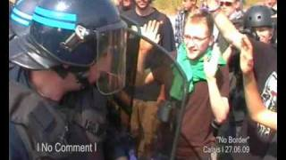 No Border Calais - No Comment