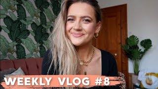 WEEKLY VLOG #8 | FRIENDS, FITNESS & LOTS OF FOOD | EmmasRectangle