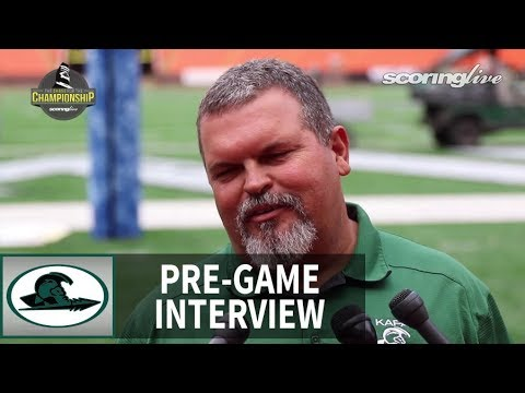 Kapaa HC Philip Rapozo - HHSAA D2 Championship Pre-Game Interview (2016)