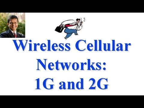 CSE 574S-10-F: Wireless Cellular Networks: 1G and 2G