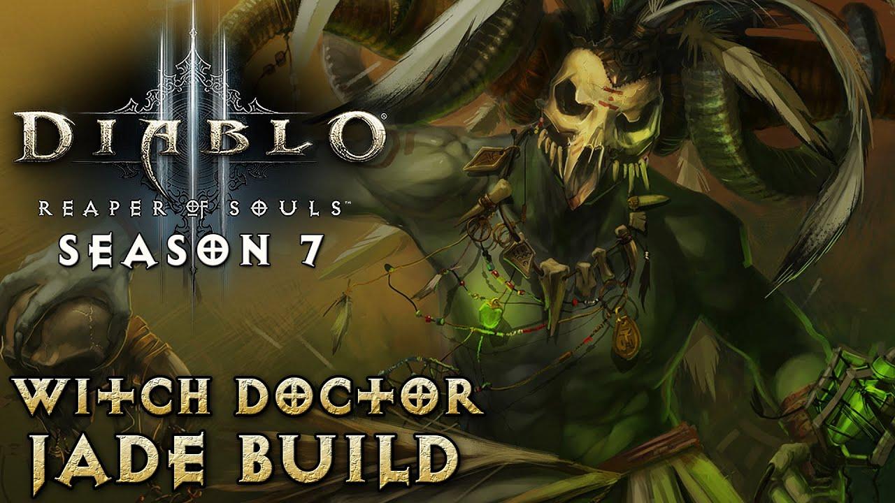 Witch Doctor Diablo  Jade Build