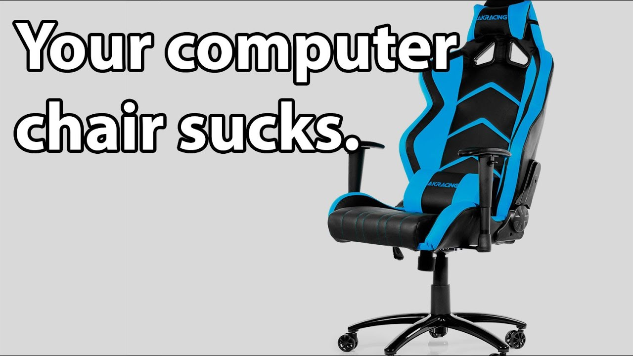 Ak Racer Gaming Chair Power Lift Akracing 6014 Review Your Computer Sucks
