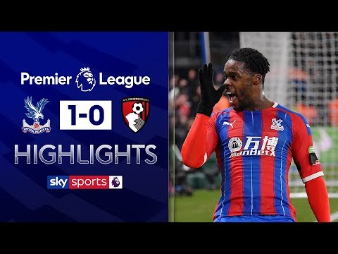 Schlupp scores winner for 10-man Palace | Crystal Palace 1-0 Bournemouth | Premier League Highlights