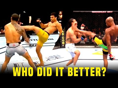 Who Did It Better? The 2 Front Kick K.O Losses Of Vitor Belfort's Career