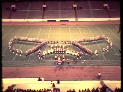 San Angelo Central Band at State Marching Finals Dec 3, 1979