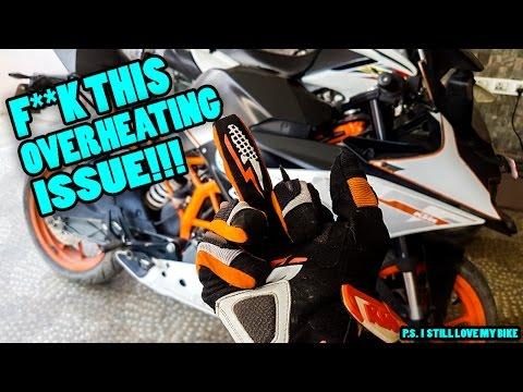 KTM RC 390 OVERHEATING ISSUE   MY BIKE OVERHEATED THREE TIMES   RIDE TO RANIKOT   MOTOVLOG   NEPAL