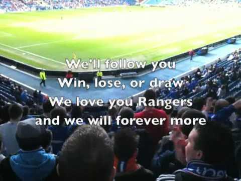 Rangers Song - We'll Follow You