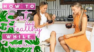 How To Eat Healthy While Traveling! | Our Bali Vacation | The Rybka Twins