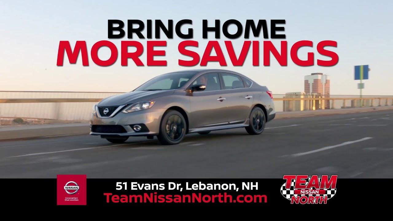 Bring The Savings Home At Team Nissan North!