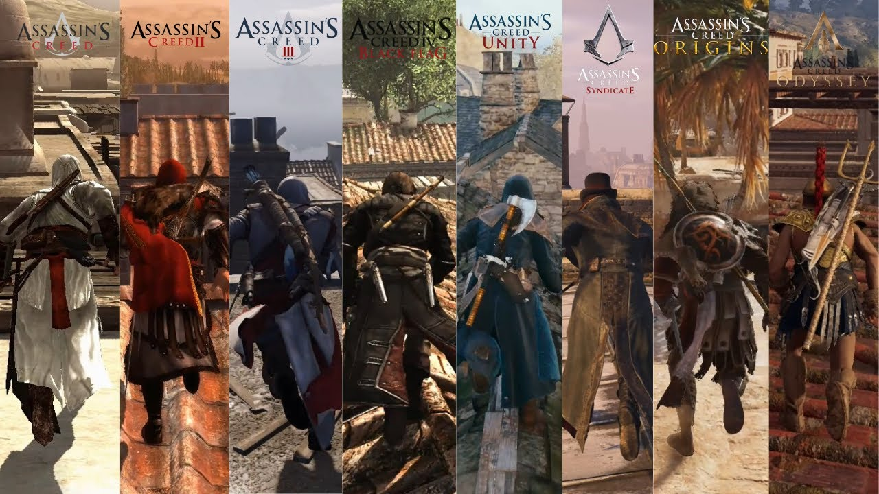 1 Minute of Parkour From Every Assassin's Creed thumbnail