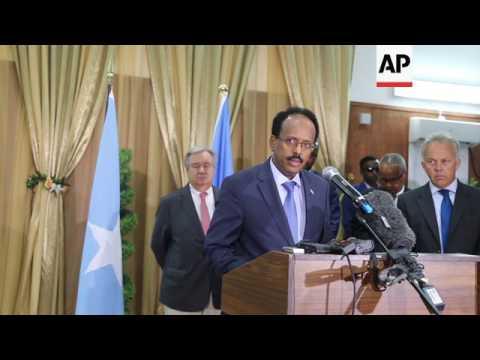 Somalia's president criticises new US ban