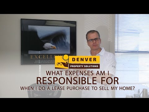 What Expenses Am I Responsible For When I Do A Lease Purchase?