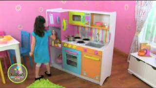 Kidkraft 53100 Big And Bright Childrens Wooden Play Toy Kitchen At Http   Wooden Toys Direct Co Uk