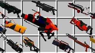 Minecraft Mods: Extraordinary Weapons Mod / Minecraft Waffen Mod