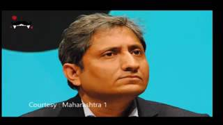 Ravish kumar NDTV on phone talking about Ban on Ndtv india by Modi Govt.