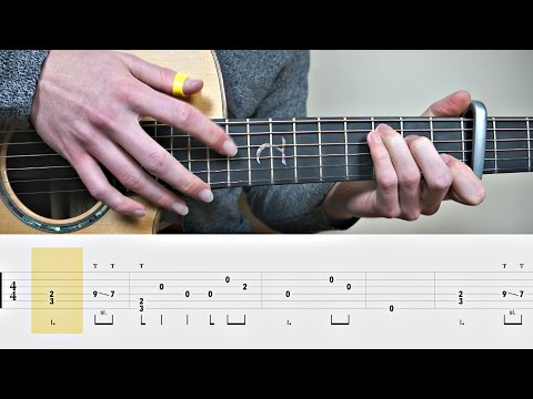 ZAYN & Taylor Swift - I Don't Wanna Live Forever - Fingerstyle Guitar TABS Tutorial (Lesson)