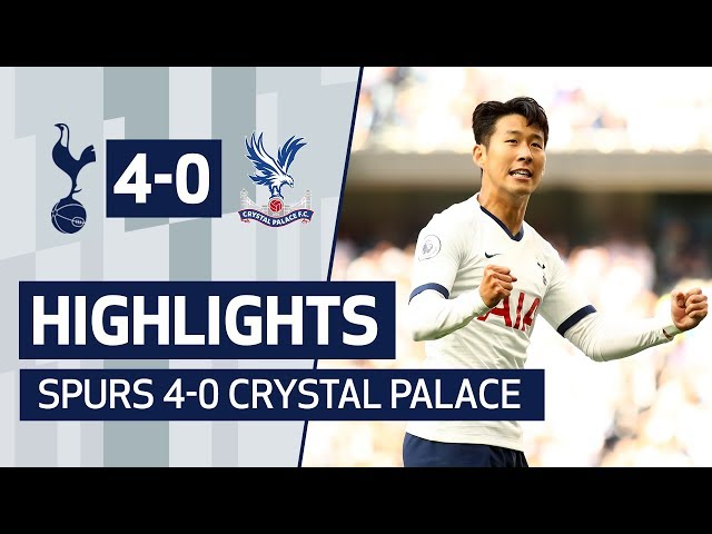 HIGHLIGHTS | SPURS 4-0 CRYSTAL PALACE