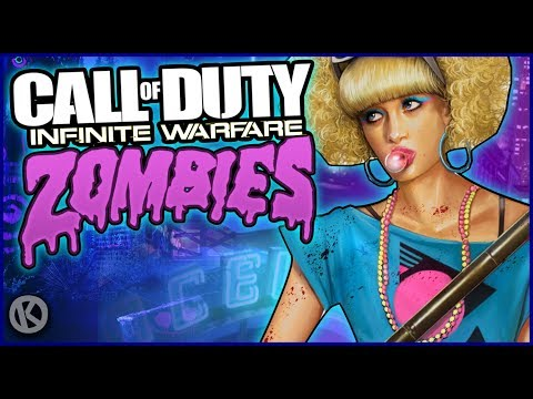 Infinite Warfare Zombies Funny Moments - Spaceland, Rave In The Redwoods & All Other Maps!