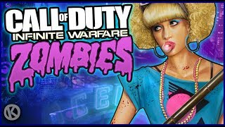 Infinite Warfare Zombies Funny Moments - Spaceland, Rave In The Redwoods & All Other Maps