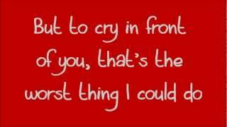 Glee - There Are Worse Things I Could Do (Lyrics) HD