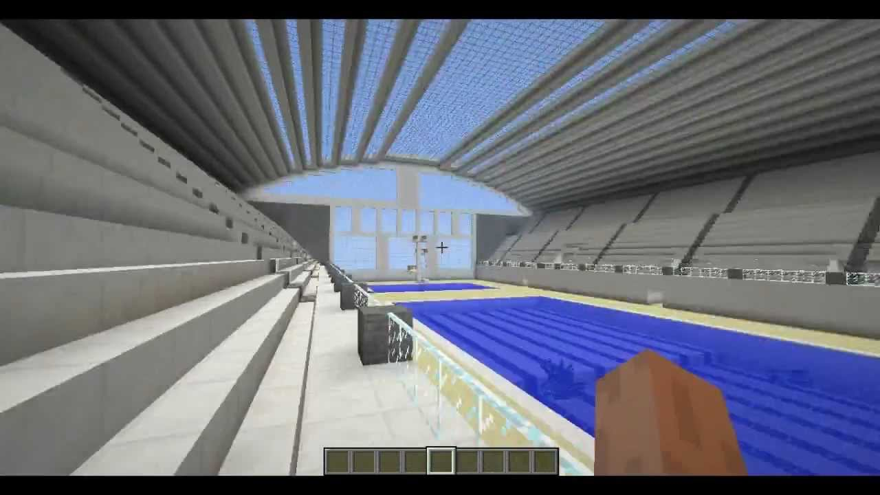 Minecraft Zwembad Swimming Pool Download Youtube