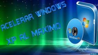 Como acelerar el inicio y apagado de windows xp