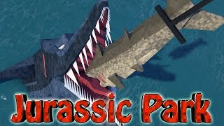 "Minecraft Dinosaurs | Jurassic Craft Modded Survival Ep 60! ""5 NEW DINOSAUR SPECIES!"""