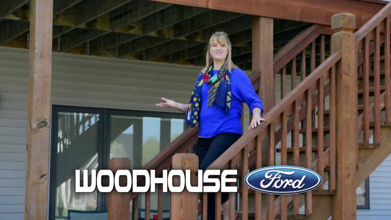 Woodhouse Ford May 2013 TV commercial YouTube