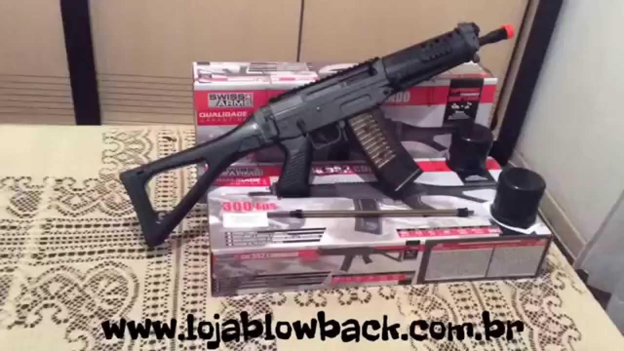 rifle de airsoft sig 552 commando spring cal 60 mm