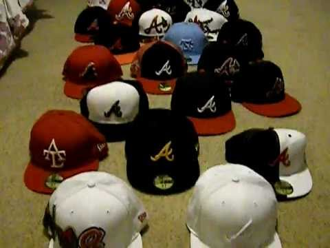 New Era Hat Collection Atlanta Braves Fitteds - YouTube 85e1434ec8e