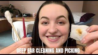 [ASMR] Binaural Ear Cleaning & Picking