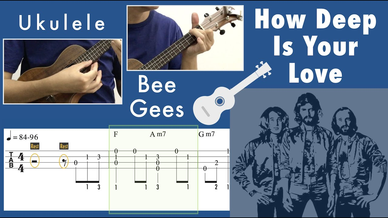 How Deep Is Your Love / Bee Gees (Ukulele)