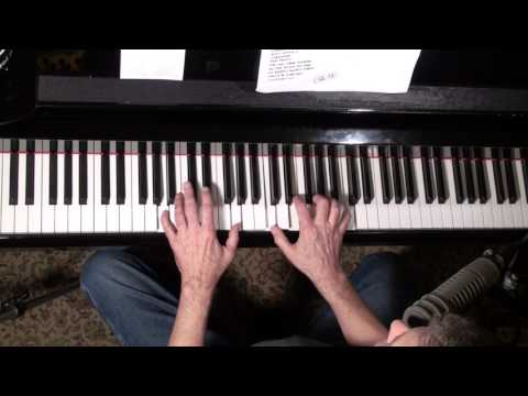 How to play jazz standards - A Train, Blue Bossa, Autumn Leaves, All of Me, Jazz Piano college 186
