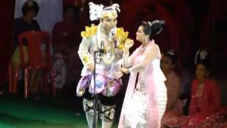 myanmar male popular dancer shwe man tin mg san min win s a nyeint performance