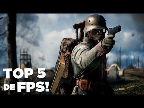 Top 5 Jogos De FPS/TIRO Para PC/Computador De 2019