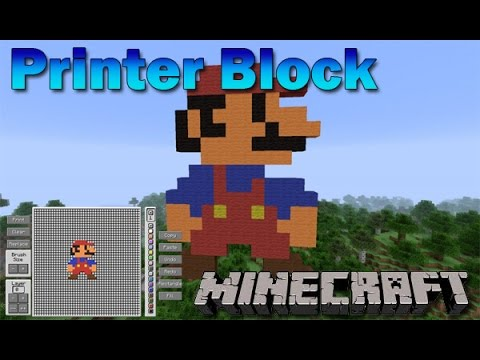 minecraft how to get printer mod