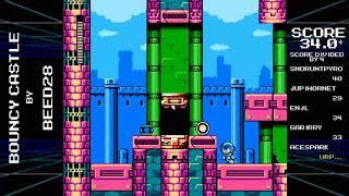 Make a Good Mega Man Level 2 Blind Run - Pt 32 - Bouncy Aurora City