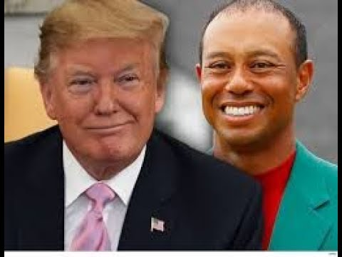 Donald Trump to award Tiger Woods with the Presidential Medal of Freedom after Masters win!