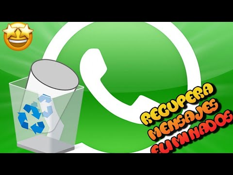 Recupera MENSAJES ELIMINADOS En Todos Tus Chats De Whatsapp Para ANDROID