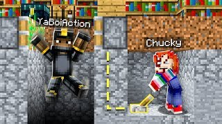 PRANKING AS CHUCKY IN MINECRAFT! (He *FREAKED* When He Saw Chucky)