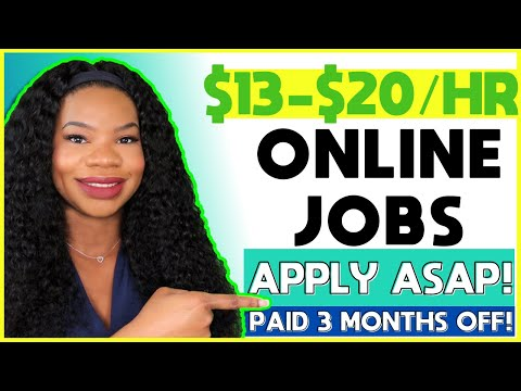 🤑 *FREE Equipment!!* $13-$20/hr Work-From-Home Job! Company Will Pay You To NOT Work During Summer!