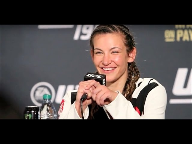 Miesha Tate Knew She Had to Go Out Guns A Blazing to Get the Belt (UFC 196 Post Press)