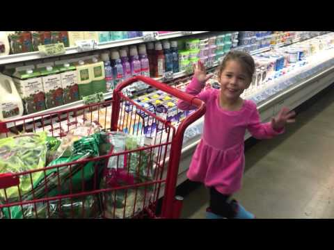 Cleo dancing in Trader Joe's Hollywood