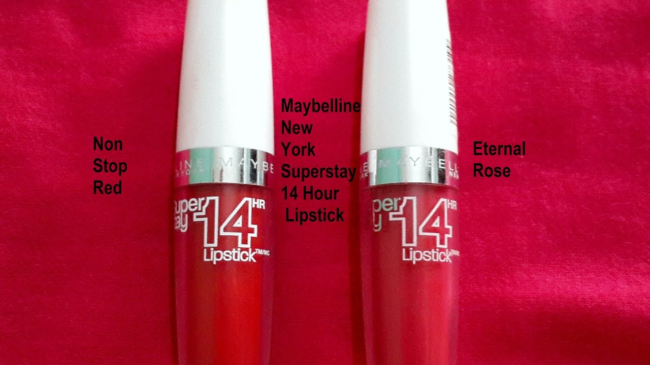 Maybelline New York Superstay 14 Hour Lipstick - YouTube