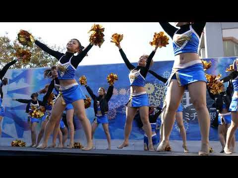 Cheerleading チア Pentatonix Sing 早稲田大学チアダンスサークルMYNX 早稲田祭②