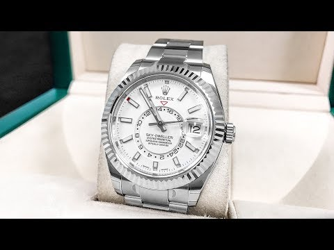New Rolex Sky-Dweller in Stainless Steel - Better than Gold?