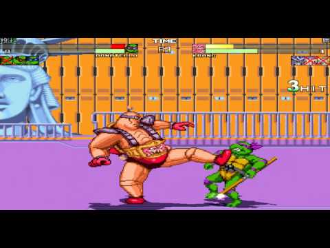 MUGEN: TMNT VS Rocksteady, Bebop, Krang, Shredder