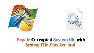 How to Repair & Fix Corrupted dll File Error Using System File Checker Tool