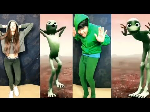 Dame tu Cosita - Alien Dance Musically | Awez, Mr. Mnv and More